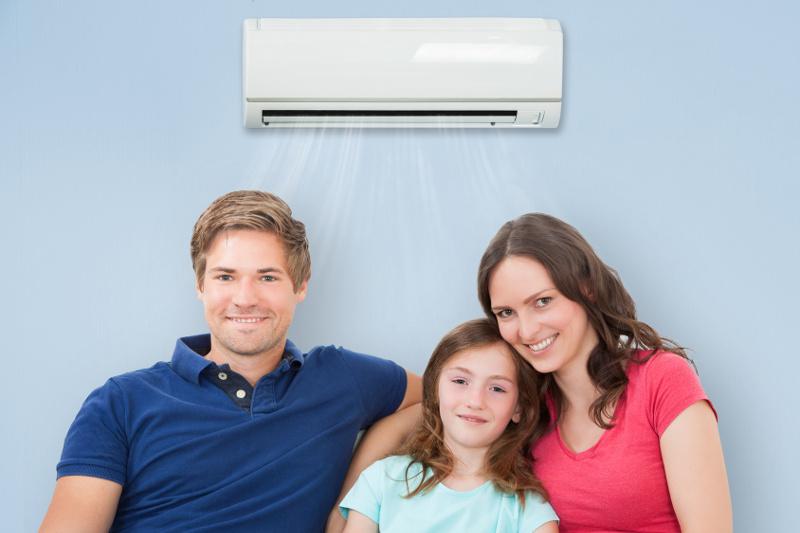 klimatyzator w pokoju dziecka