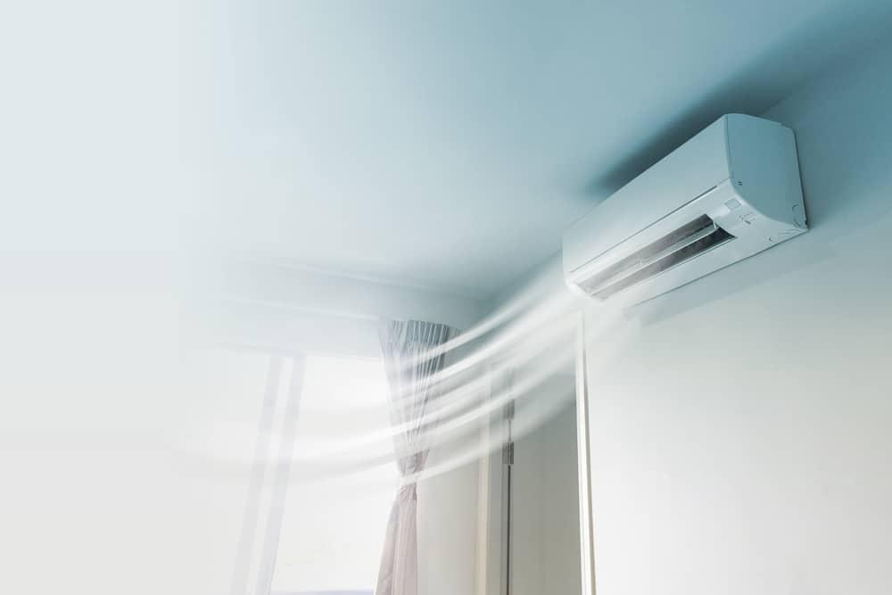 Klimatyzator w domu - obraz